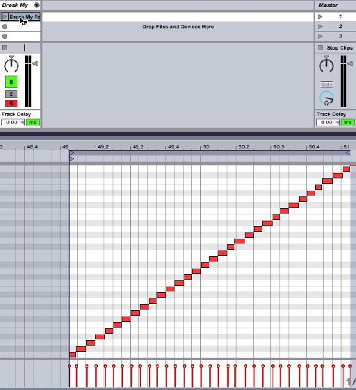 MIDI track