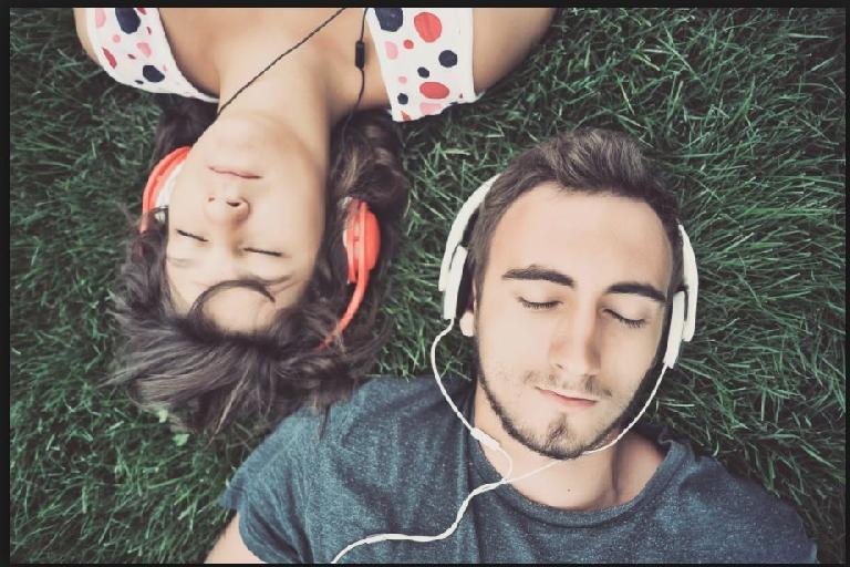 listen to inspirational tracks