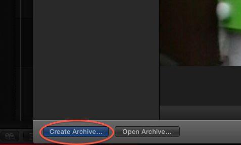 Create Archive...