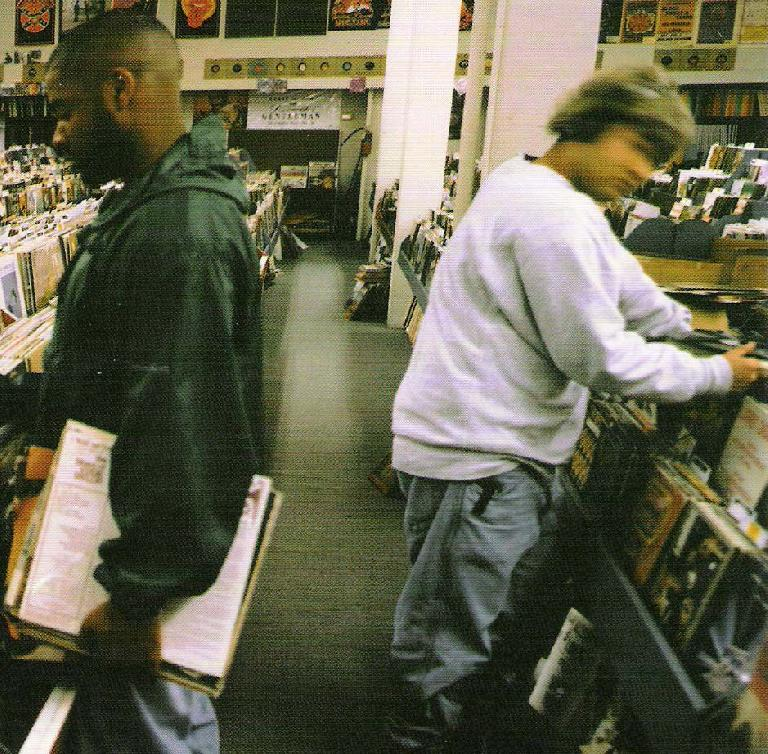 Can anyone guess what DJ Shadow's favourite format is?