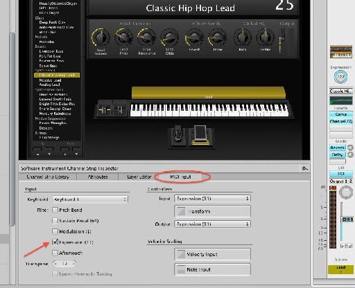 Filter MIDI CC11 part 2