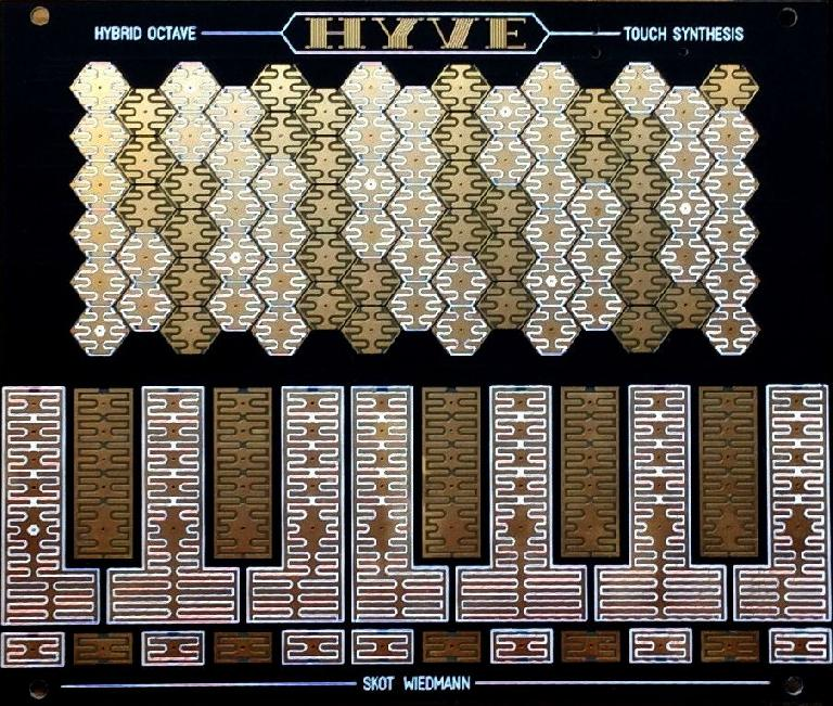 Scot Wiedman's Hyve Touch Synthesizer.