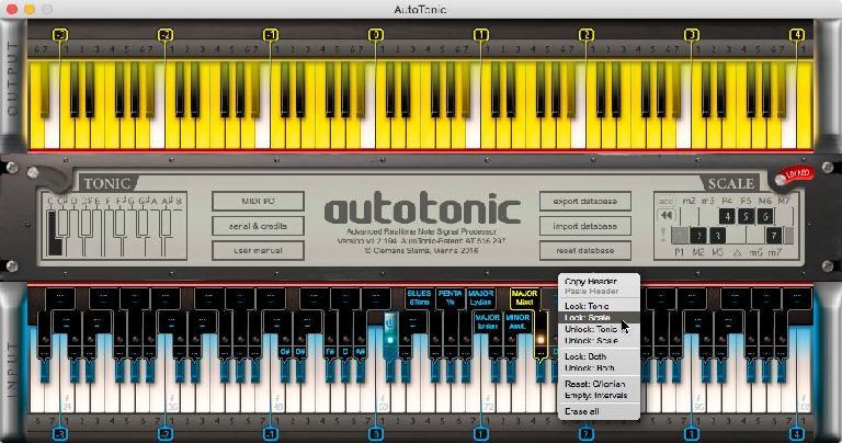 AutoTonic MIDI plugin