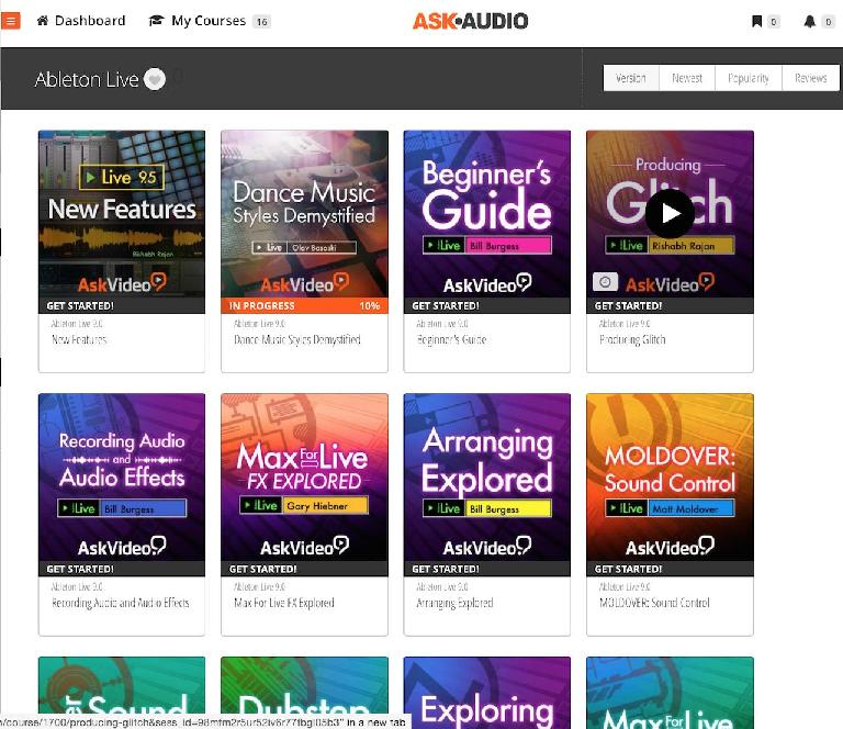 New Year? Learn a new DAW at Ask.Audio Academy
