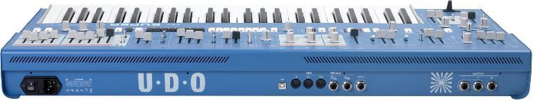 UDO Audio Super 6 rear view.