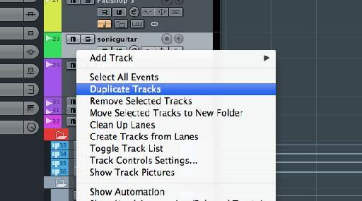 Use selective doubling and panning of tracks to make sounds bigger and weightier.