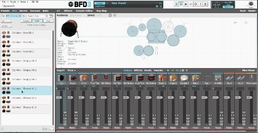 BFD Oblivion interface.