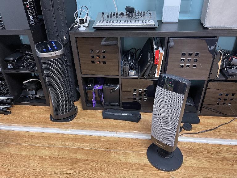 A noisy heater