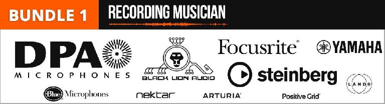 Ask.Audio Bundle 1 - Recording Musician - DPA, Black Lion Audio, Yamaha, Focusrite, Steinaberg, Nektar, Arturia