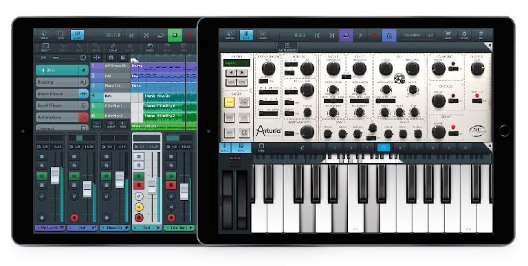 Cubasis 1.9.8 now supports audio units on iPad
