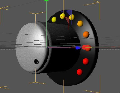 The center piece control done in Cinema 4D