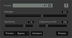 iZotope RX5 Audio Editor De-plosive