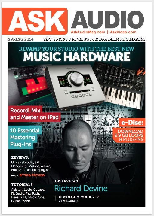 Grab your copy of AskAudio Magazine in print before it's sold out!