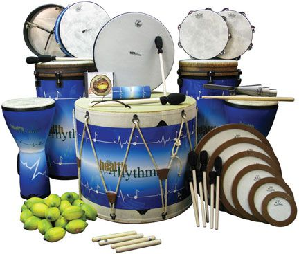 REMO HealthRHYTHMS Drum collection