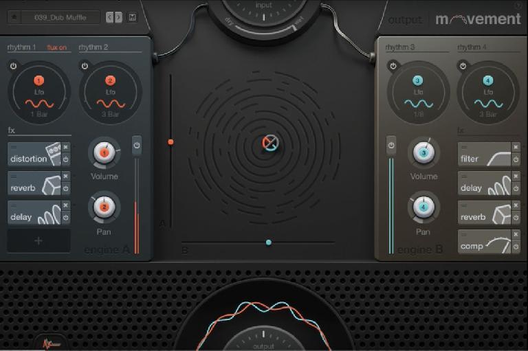 Output Movement screen shot