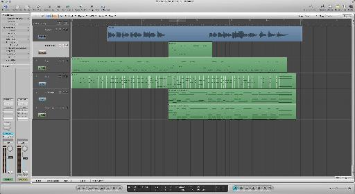 Pic 1: a short instrumental song I wrote