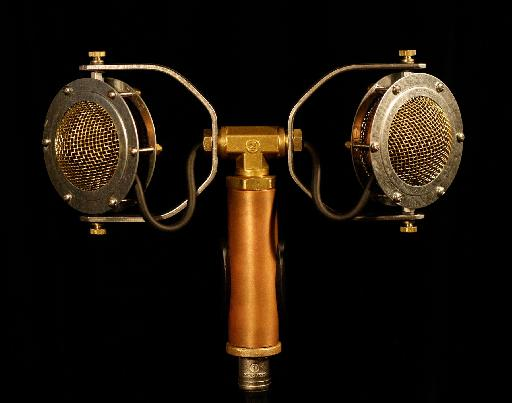Ear Trumpet Evelyn Stereo Microphone - looks beautiful, doesn't it!