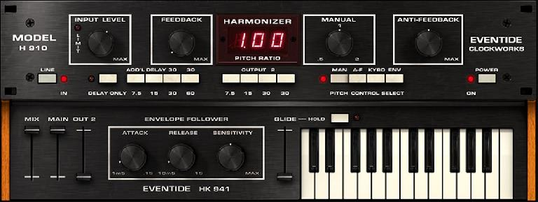 Eventide® H910 Harmonizer Plug-In