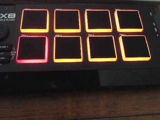 MPX8 pads