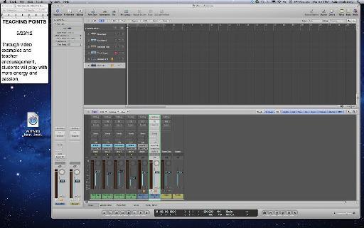 Logic project on Desktop 2