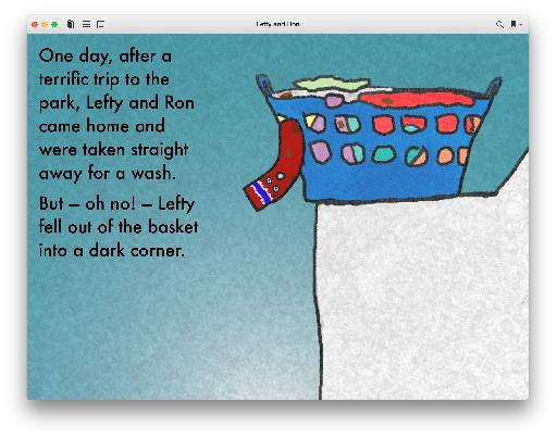 My free interactive kids book was animated in Hype and inserted page-by-page into iBooks Author.