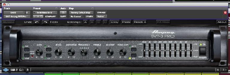 The Universal Audio Ampeg SVT-3