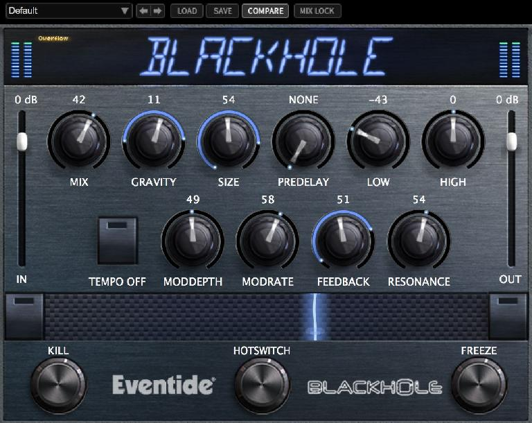 Into the Blackhole with Eventide Blackhole