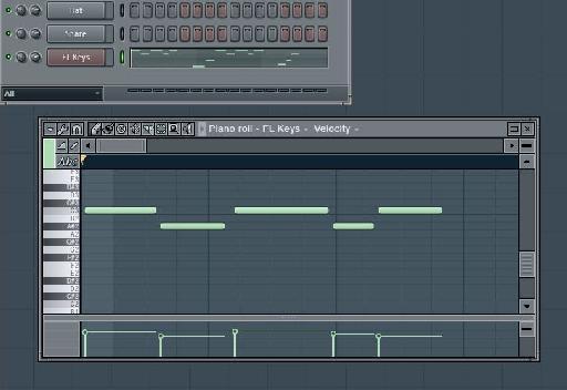 Piano Roll MIDI