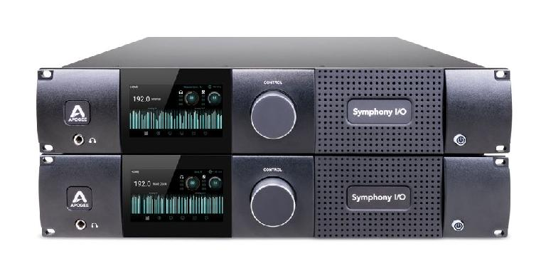 What's better than one Apogee Symphony I/O MKII? Two!