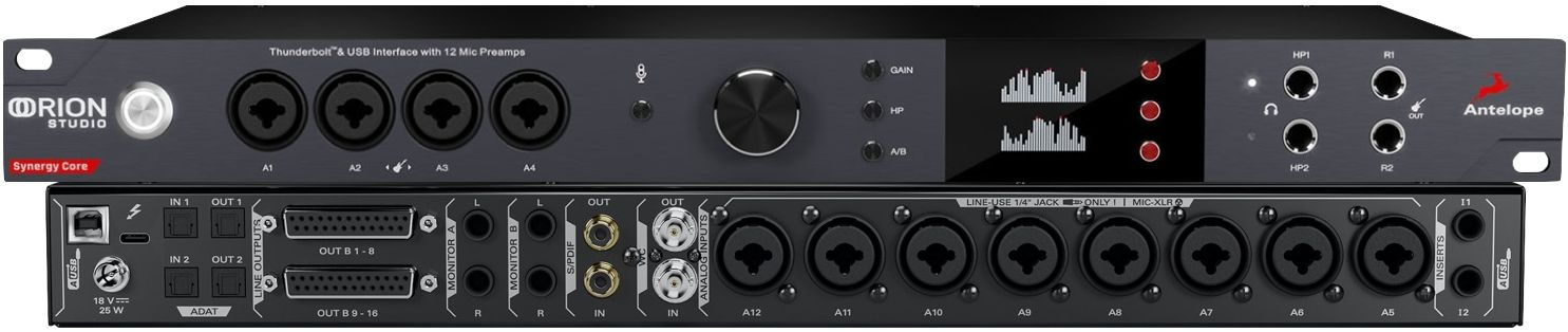 Review: Antelope Orion Studio Synergy Core : Ask.Audio