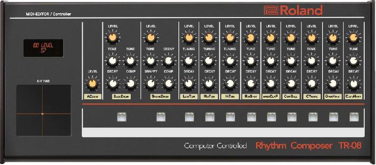 Roland Boutique TR-08 MIDI Editor