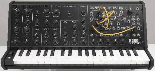 How could you not want a Korg MS-20 Mini in yoru studio?