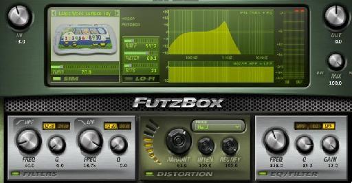 Futzbox applied to the original sound.