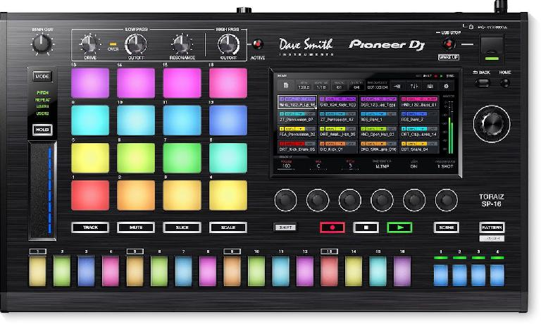 Pioneer DJ & Dave Smith Instruments Toraiz SP-16