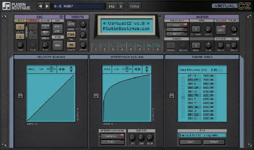 Plugin Boutique VirtualCZ