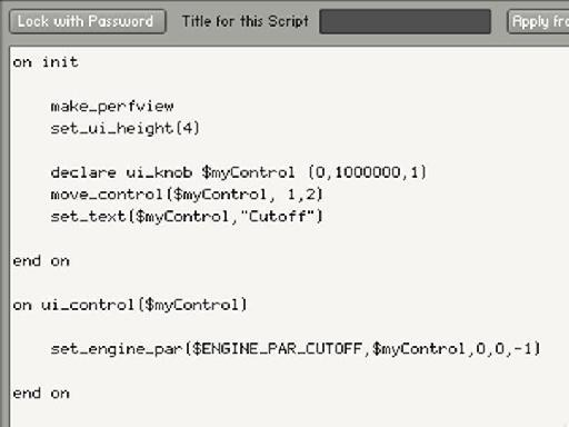 Code Example 3