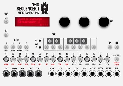 top down view of the Sequencer 1.