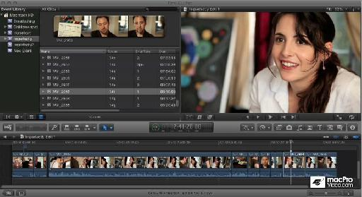 Shot from Michael Wohl's FCP X Training at macproVideo.com