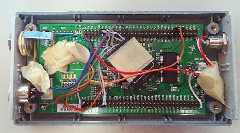 Inside's of the stmpler sample player.