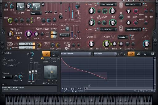 The Harmor synth in FL Studio 11 that's making waves in the music making world.