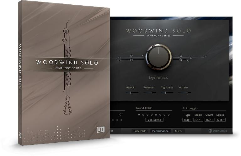 Native Instruments SYMPHONY SERIES Woodwind Solo.