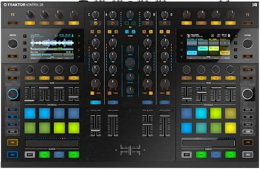 NI Traktor Kontrol S8 top view