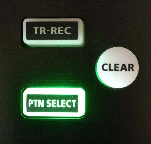 clear pattern on TR-8