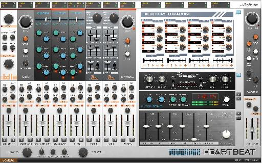 Softube Heartbeat software drum synth.