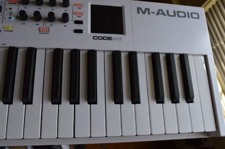 M-Audio Code 49 MIDI Controller keys