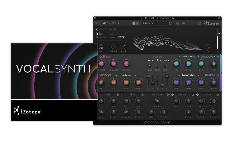 iZotope VocalSynth interface