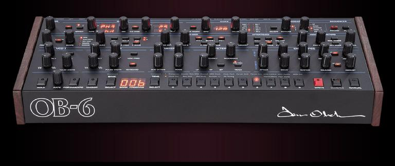 Dave Smith Instruments OB-6 module.