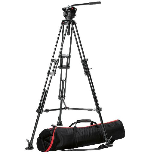 You'll definitely need a tripod, though a top end one like this isn't always strictly necessary.