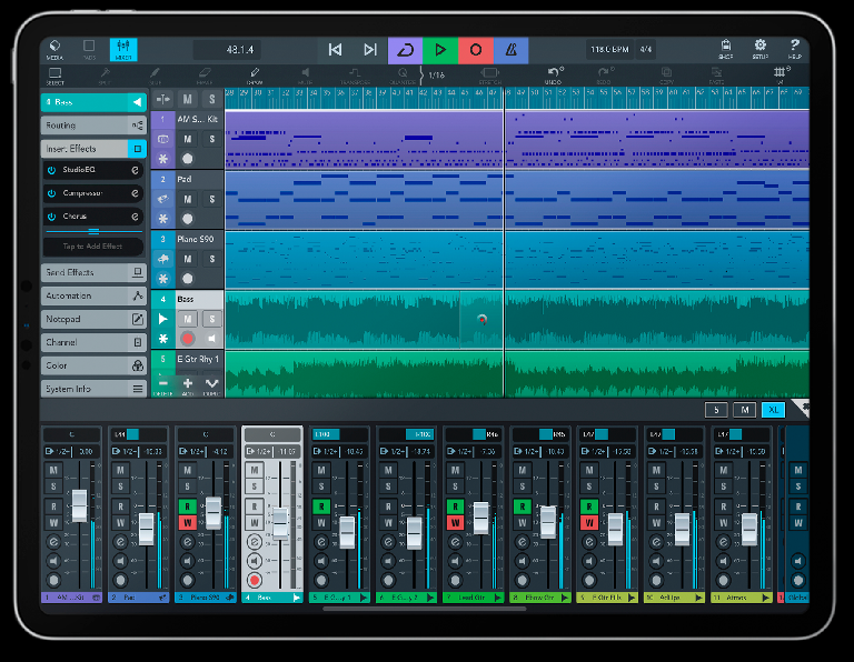 Steinberg's Cubasis is already available on iPad with the best of Cubase for the tablet.