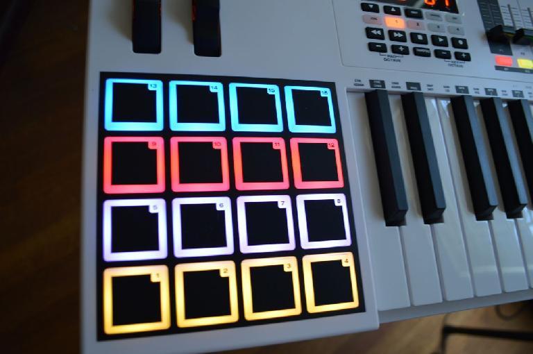 M-Audio Code 49 MIDI Controller Pads